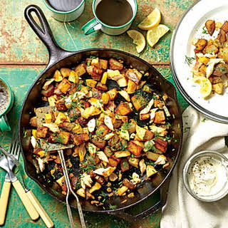 Smoked Trout-Apple Hash.