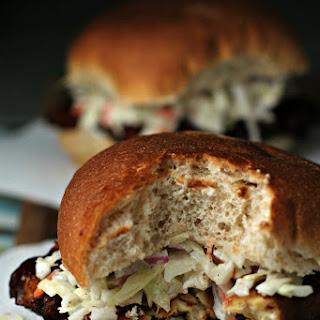 BBQ tempeh sandwiches