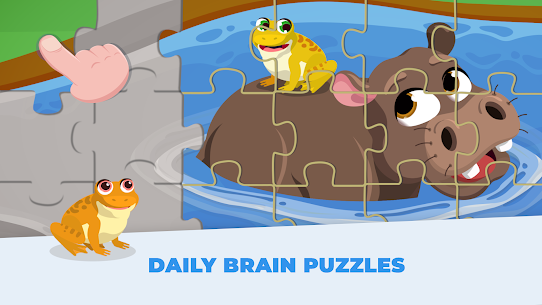 Animal Jigsaw Puzzles for Kids – Toddlers Games 7
