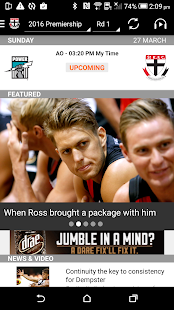 St Kilda Official App- screenshot thumbnail