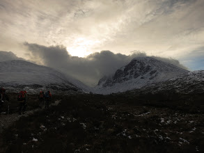 Photo: Approaching the North Face of Ben Nevis