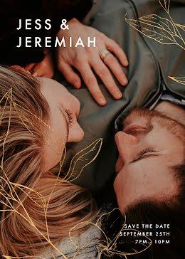 Jess & Jeremiah's Wedding - Save the Date item
