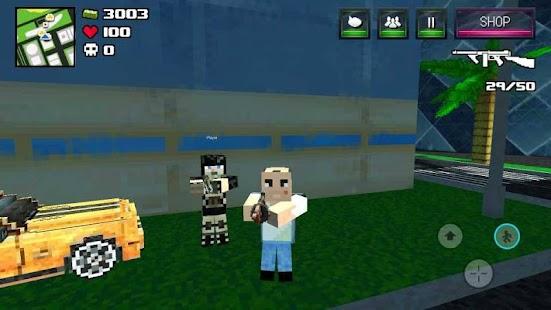 Clan Outlaw Gun Craft Royale Battle- screenshot thumbnail