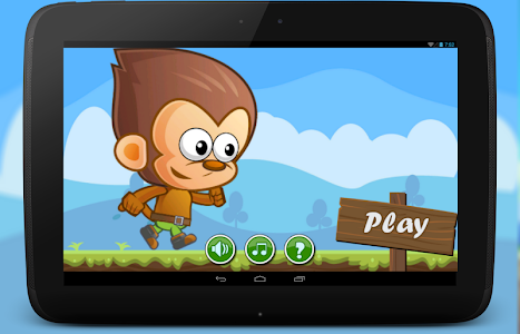 Jungle Monkey Run Banana Kong screenshot 0