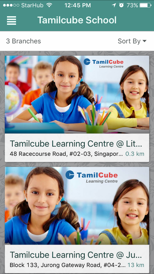 Tamilcube School- screenshot