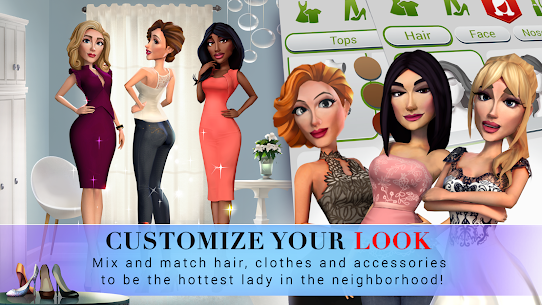 Desperate Housewives: The Game MOD 18.19.35 (Unlimited Cash/Diamonds) Apk + Data 5