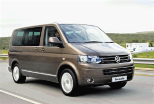 PEOPLE CARRIER: The VW Caravelle is the most luxurious and comes in three versions.