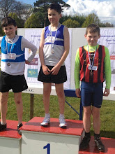 Photo: Ben O'Dwyer, Moycarkey Coolcroo A.C. 3rd in Boys U/13 600m at St. Laurence O'Toole Open Sports 2012