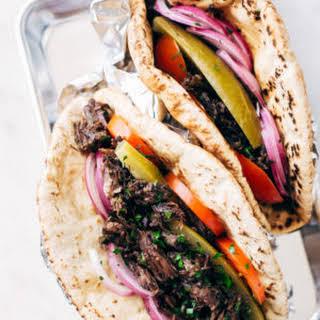 Restaurant Style Beef Shawarma (Pressure Cooker).