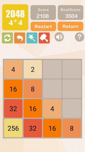 2048 Charm: Classic & New 2048, Number Puzzle Game 2.0501 screenshots 1