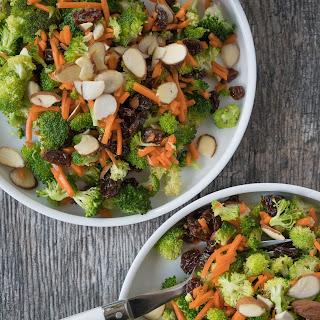 Broccoli Carrot Crunch Salad.