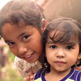 Daughters... by Khairil Shahmi - Babies & Children Child Portraits