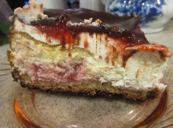 Jamie's Strawberry Cheese Cake
