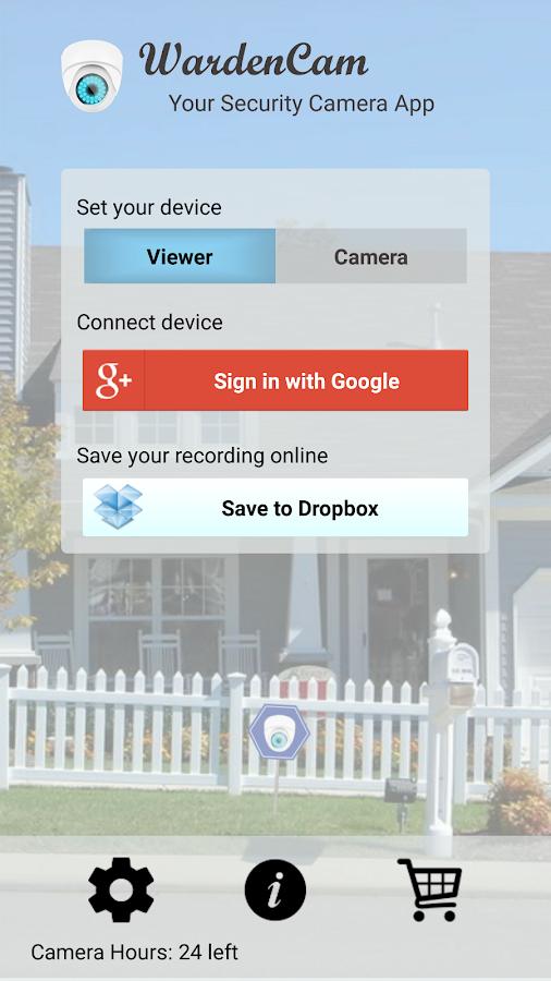 Home Security Camera WardenCam- screenshot