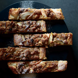 Apple-and-Pear Galette with Walnut Streusel Recipe