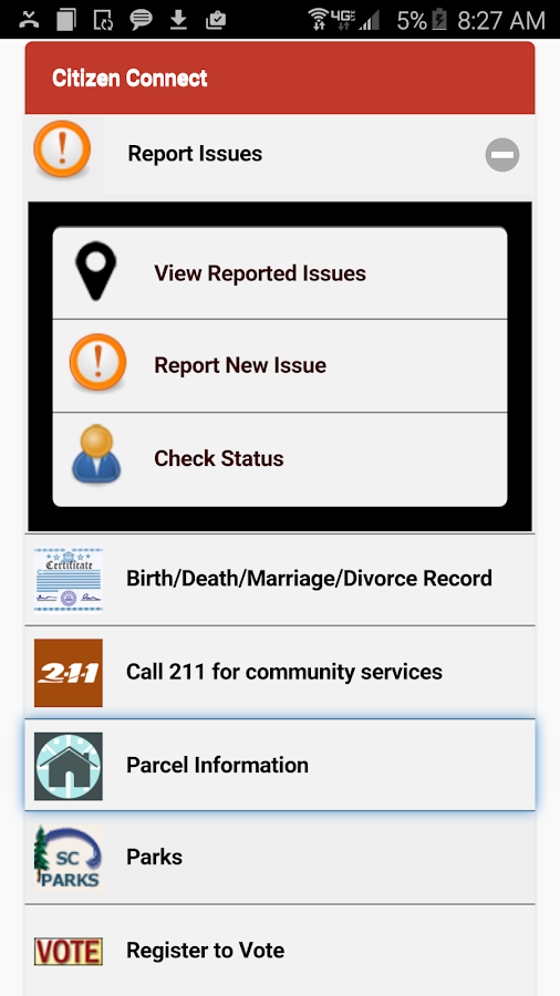 Citizen Connect- screenshot