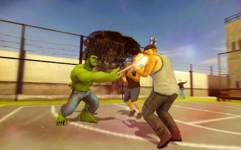 Monster & Spider Gangster Fighting Hero - náhled