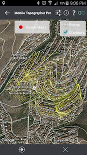 Mobile Topographer Pro Screenshot
