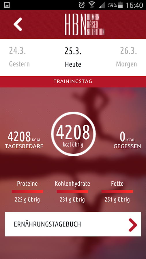 HBN - FitFoodPlan- screenshot
