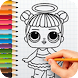 Drawing Dolls Surprise and Cute