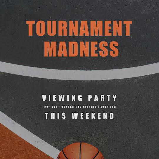 Tournament Madness Party - Instagram Post Template
