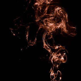 Smoke.. by Sean Kirkhouse - Abstract Light Painting