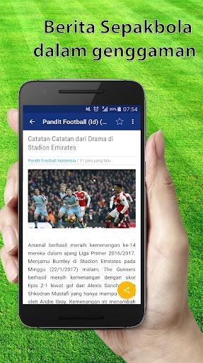 Berita Bola - Berita lengkap Sepakbola 1.0 screenshots 1
