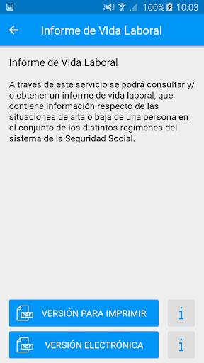 Seg-Social Seg. Social Móvil screenshot 5