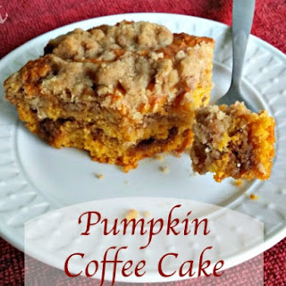 Pumpkin Coffee Cake.