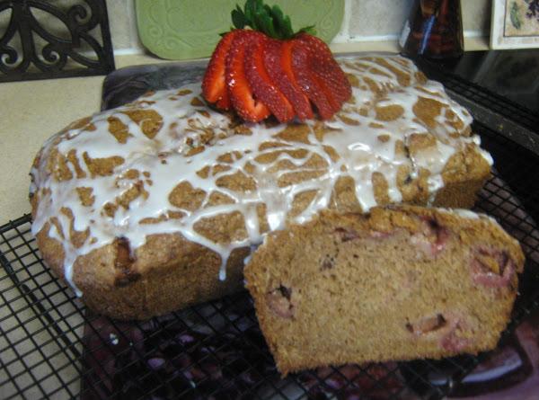 Strawberry Bread W/key Lime Glaze Recipe