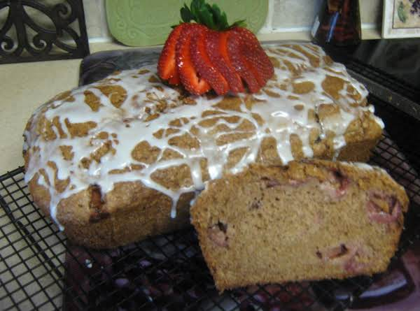 Strawberry Bread W/key Lime Glaze Recipe