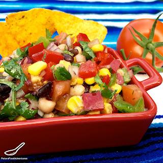 Cowboy Caviar Bean Salad & Dip