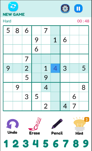 Sudoku 1.1.1 screenshots 2
