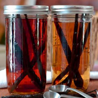 Homemade Bourbon and Tequila Baking Vanilla