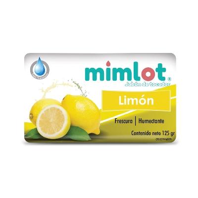 jabon en barra mimlot limon 125gr