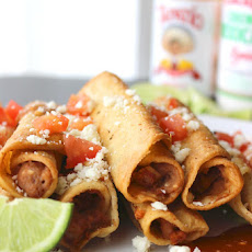 Easy Bean Taquitos
