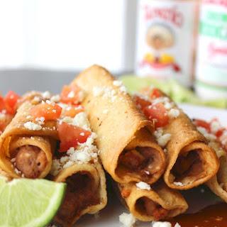 Easy Mexican Bean Taquitos
