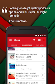 Player FM: Podcast offline! Screenshot 1