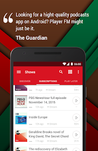 Player FM: Podcast offline!- screenshot thumbnail