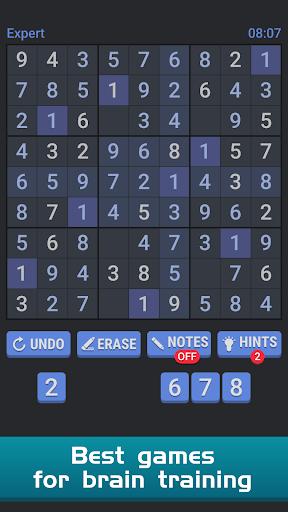 Sudoku Free Puzzle - Offline Brain Number Games 3.1 screenshots 3