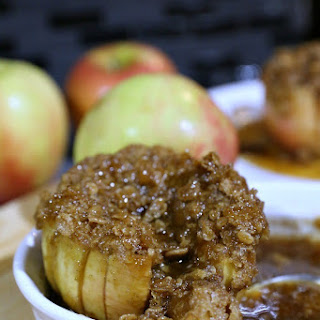 Caramel and Brown-Sugar Baked Apples.