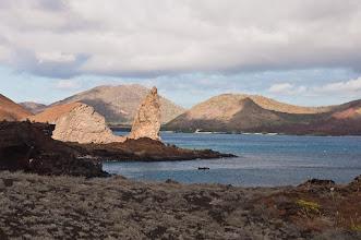 Photo: View from Bartolome volcano