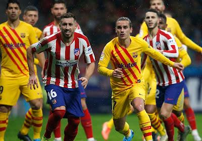 Comme si c'était le bon moment pour retrouver l'Atlético....