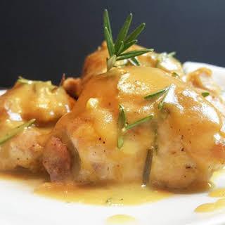 Yum Yum Honey Dijon Mustard Chicken.