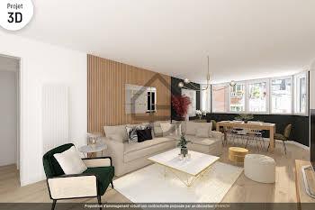 Appartement 3 pièces 74,08 m2