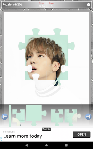 Jin BTS Game Puzzle android2mod screenshots 17