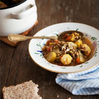 Zucchini Stew with Lentils Recipe