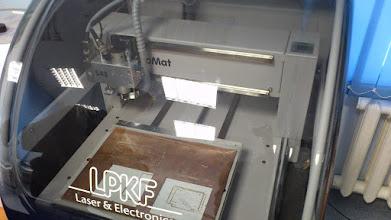 Photo: Экскурсия в ЦМП УрФУ. Фрезер для изготовления макетов печатных плат
