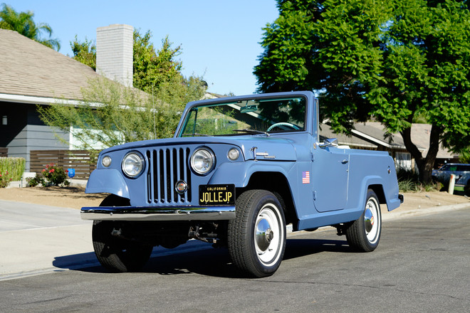 1967 Kaiser Willy's Jeepster Hire Yorba Linda