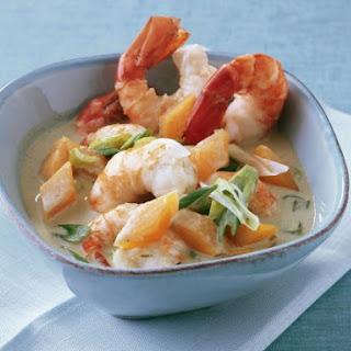 Creamy Prawn Curry Bowl